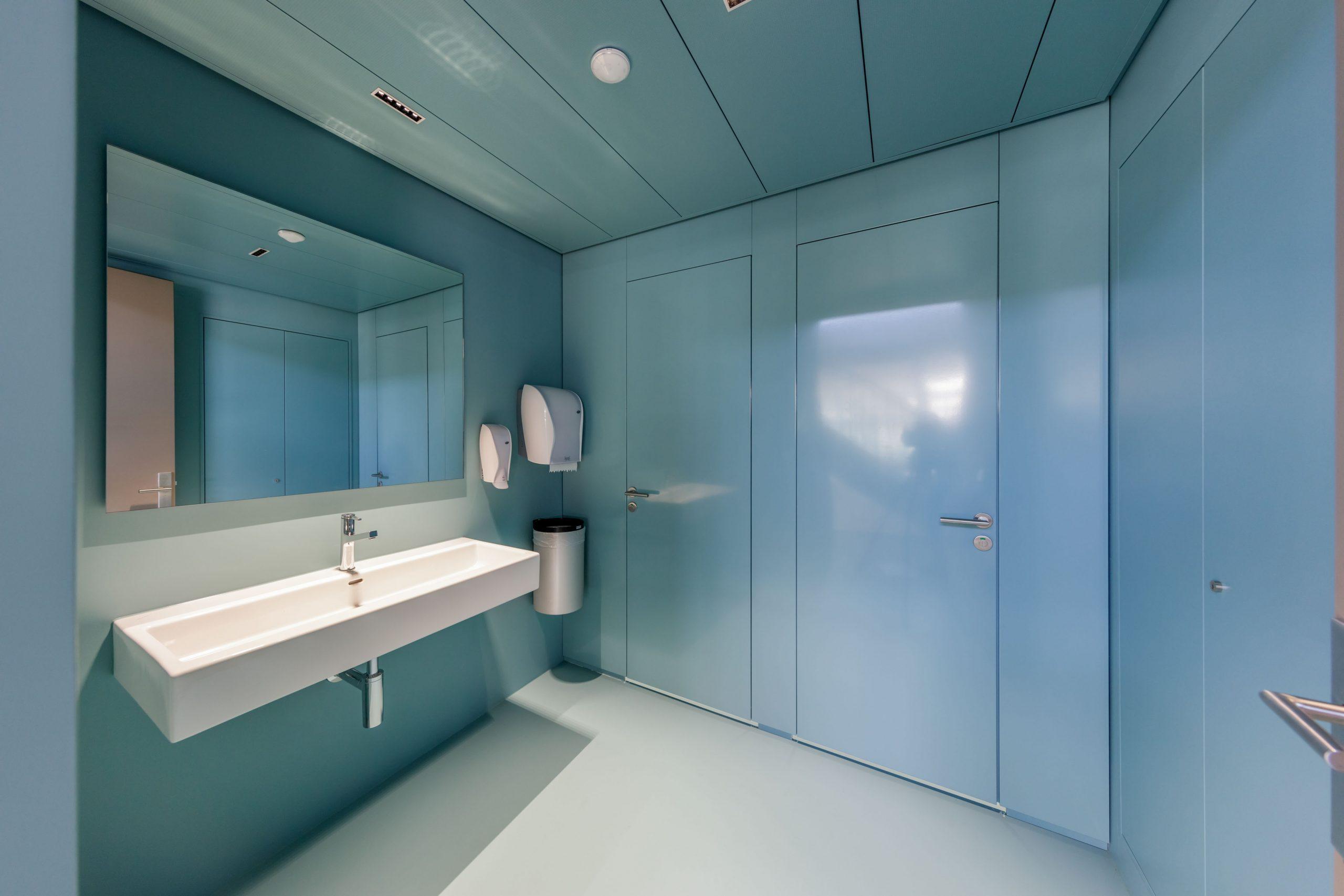 Toilettenanlage von Arotec